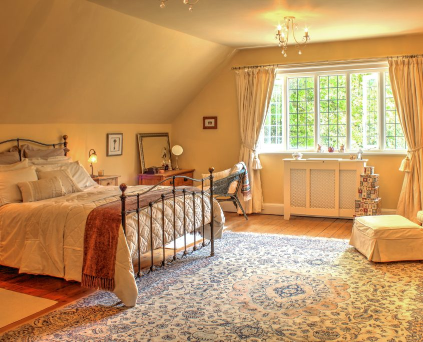Main Bedroom with En-suite, house for family get together in Yorkshire, The Beeches, Driffield