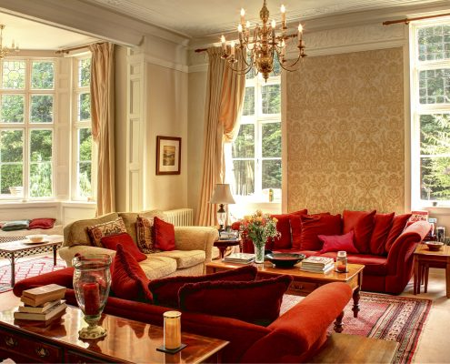 Drawing Room, house for family get together in Yorkshire, The Beeches, Driffield