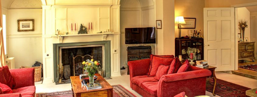 Drawing Room, house for family get together in Yorkshire